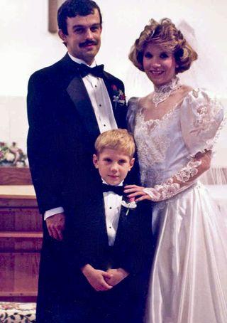 4-13 Family of Three at Wedding