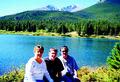 Family at Lily Lake